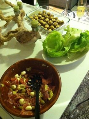 Antipasto Lettuce Wraps