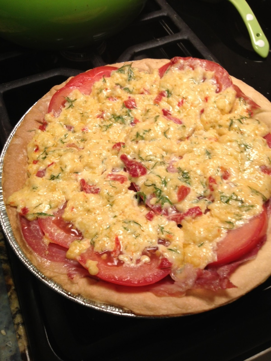 Pimento Cheese and Tomato Pie