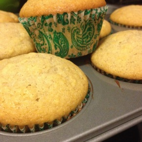 Pear Cinnamon Muffins
