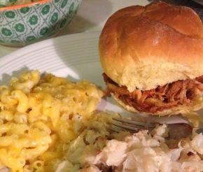 BBQ + Mac & Cheese