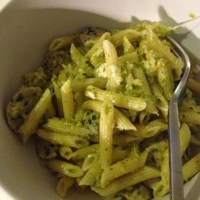 Pesto and SausageBake