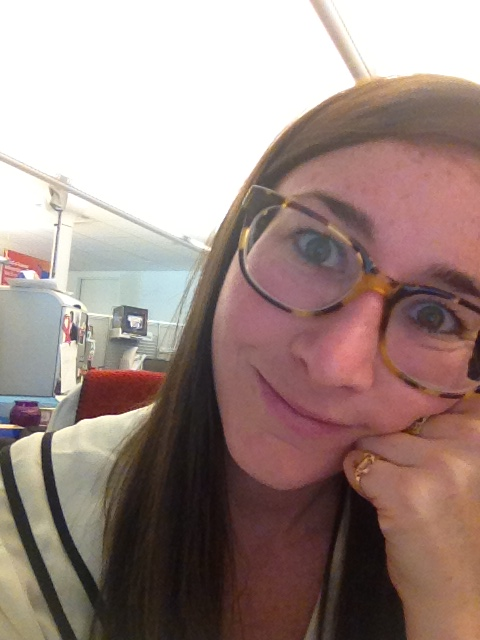 Bad office lighting, no makeup, and glasses: it's not always Insta-worthy.