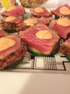 seared tuna bites1