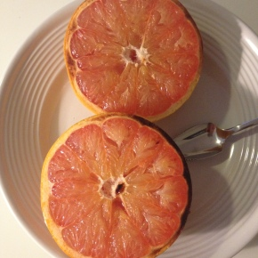 Seasonal Tastes: January – GrapefruitBrûlée