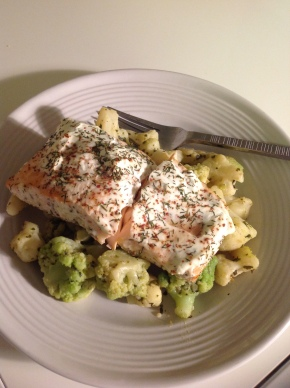 Yogurt Dill Salmon