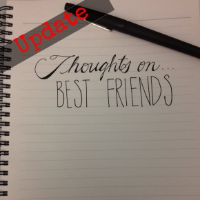 Thoughts On…Best Friends (My Response)