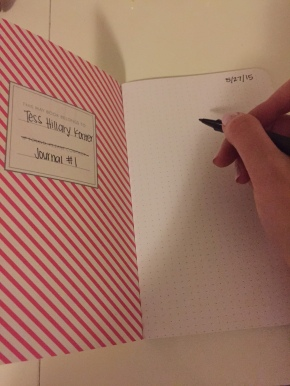 30 Before 30: #13 – Keep a Diary