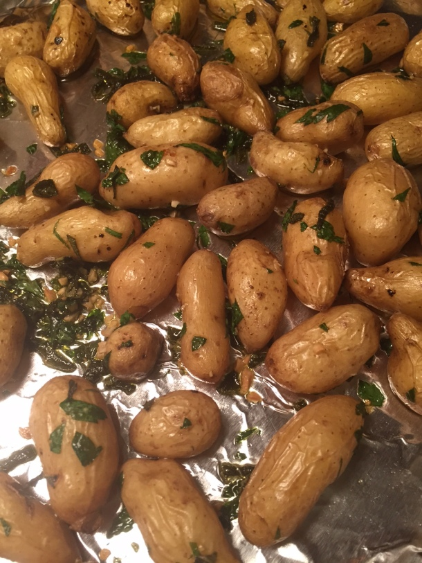 roasted fingerlings