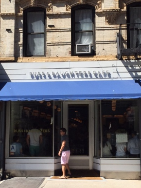 Russ and Daughters Café