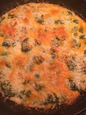 Skillet Broccoli Casserole
