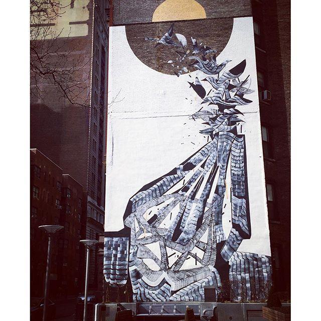 🎨🏢 #latergram #streetart #gramercy #citystroll #sundaystroll #artsyfartsy