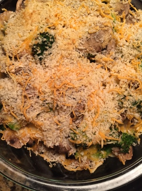 Broccoli Mushroom Bake