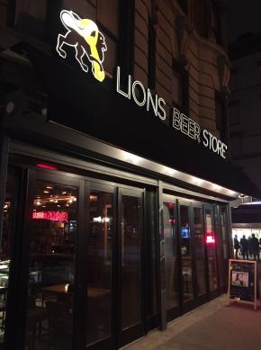 Lions Beer Store