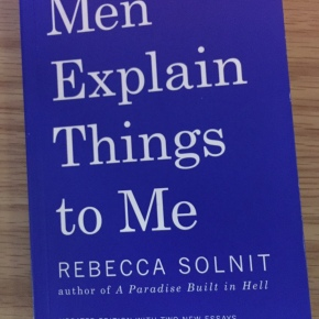 Book Review: Men Explain Things toMe