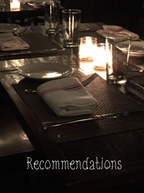 Recommendations: The Group Birthday Dinner