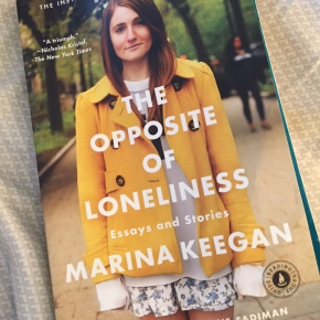 Book Review: The Opposite ofLoneliness