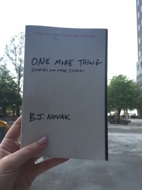 Book Review: One More Thing