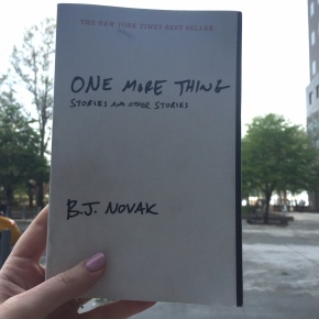 Book Review: One MoreThing
