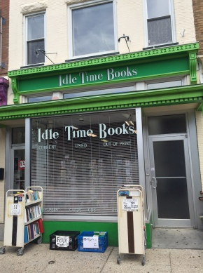 PSA: Idle Time Books