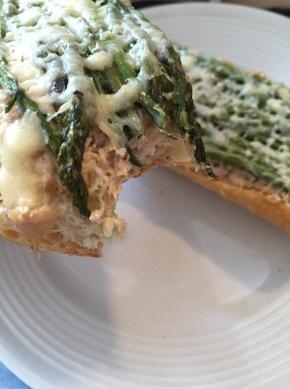 Asparagus Tuna Melt