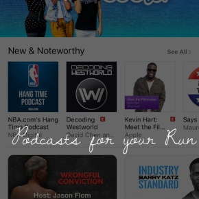 Tunes: Podcasts for Your Run