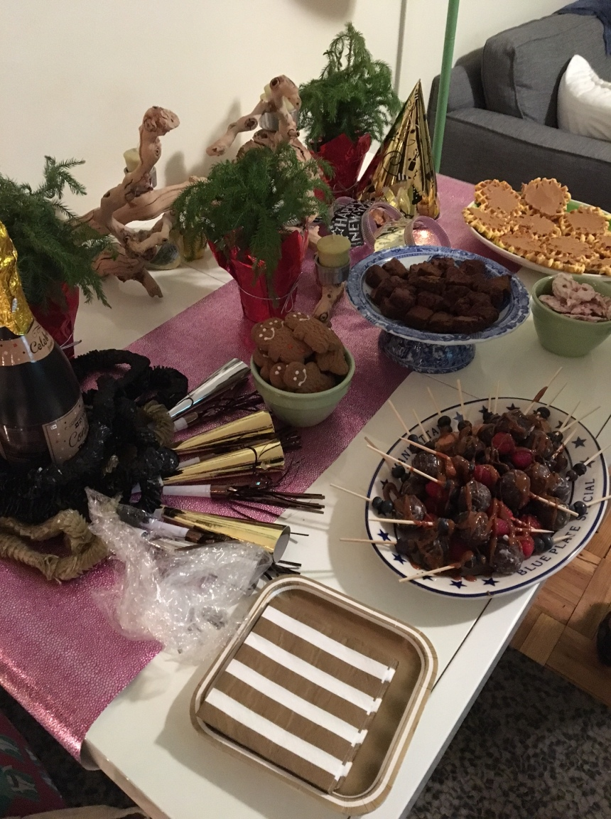 new years eve dessert