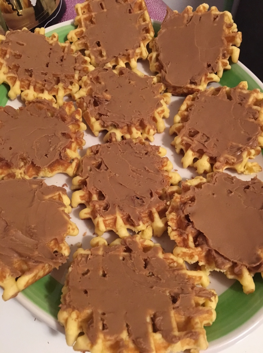 speculoos butter waffles