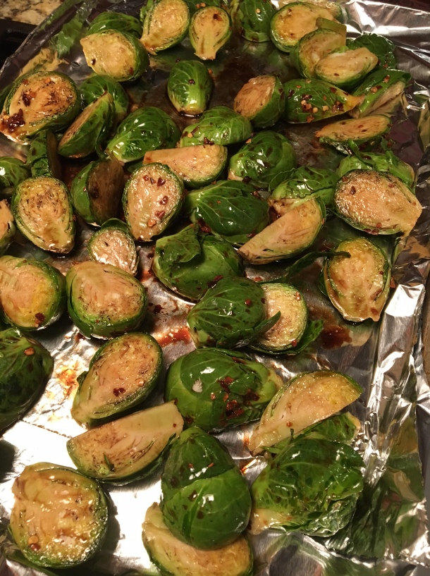 honey chili brussels sprouts with whipped ricotta2