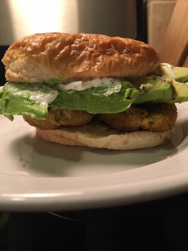 falafel avocado sandwich1