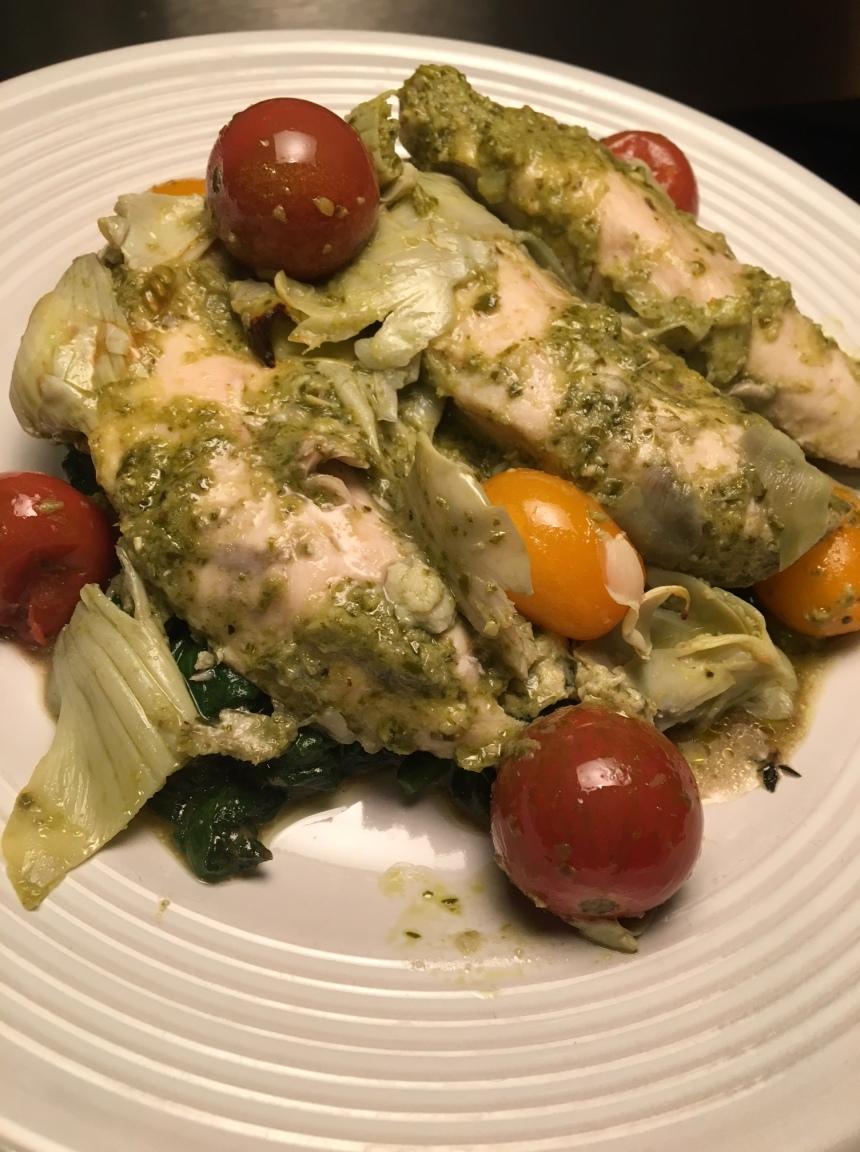 pesto artichoke chicken3
