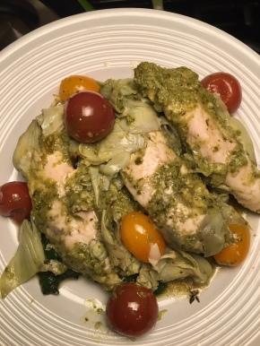 Artichoke Pesto Chicken