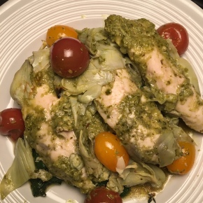 Artichoke Pesto Chicken
