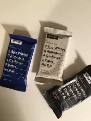 Living Healthy: RXBARs