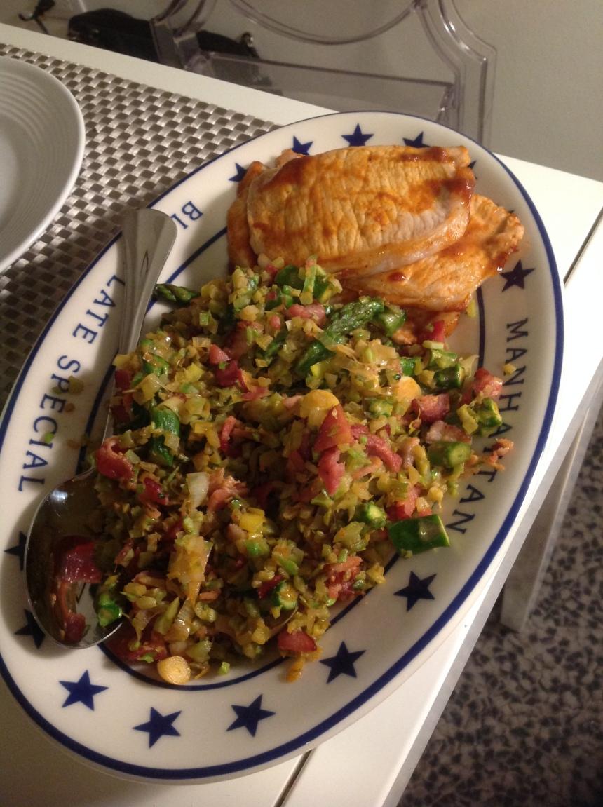 springtime broccoli rice4