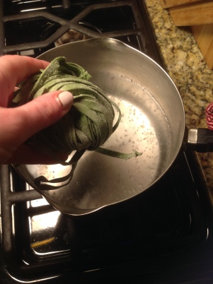 pasta with walnut sauce2