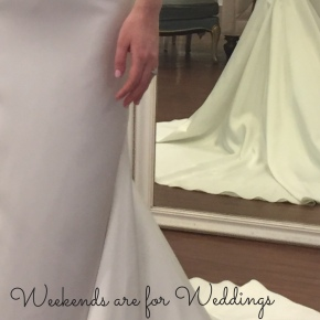 Weekends are for Weddings: A Delayed Honeymoon