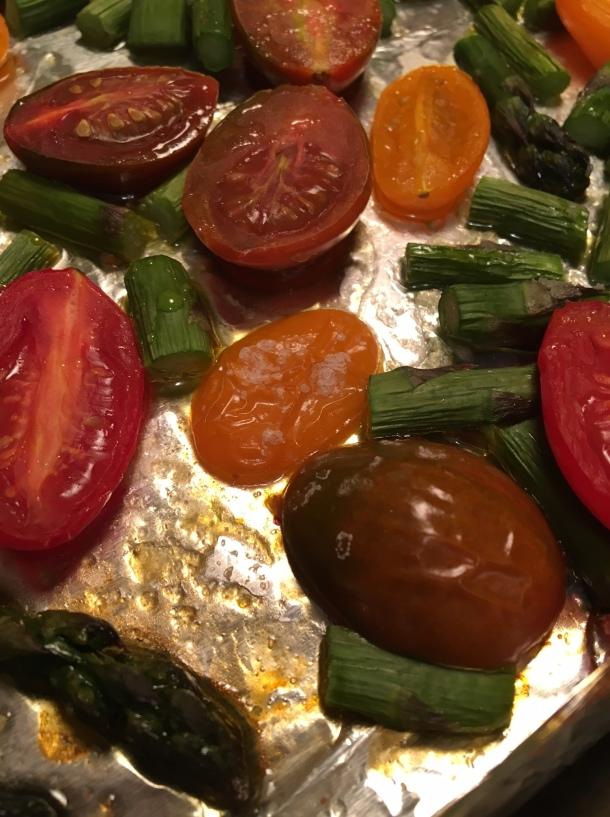 roasted asparagus caprese1