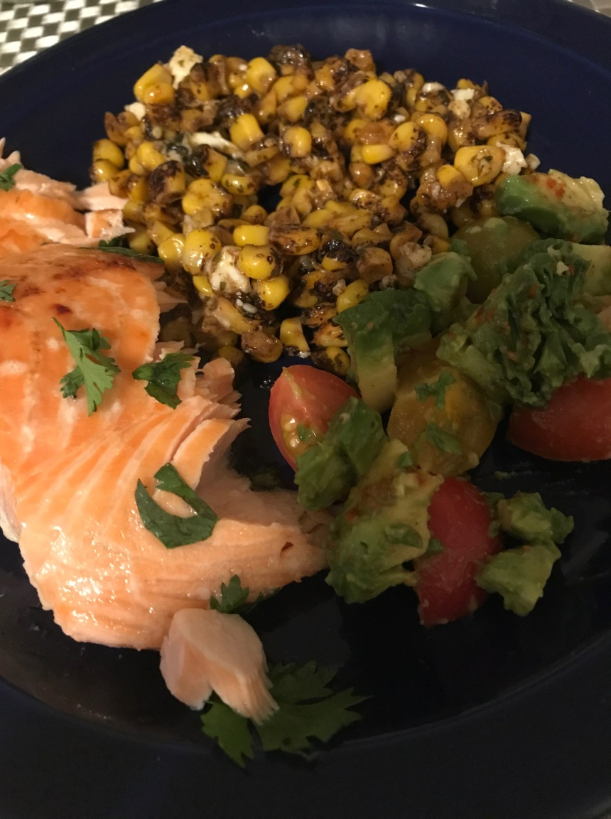 honey cilantro lime salmon6