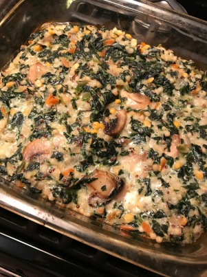 Spinach and Mushroom Israeli Cous Cous Bake6