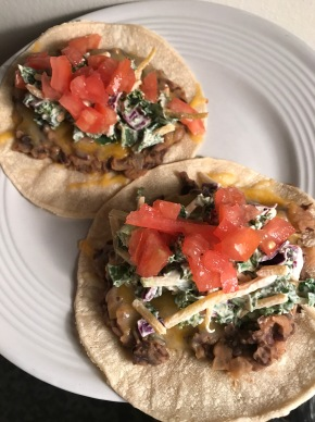 [Refried] Black Bean Tacos