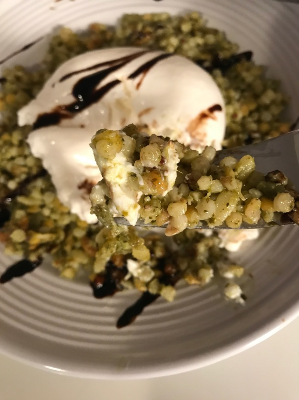 Israeli Cous Cous with Pesto and Burrata4