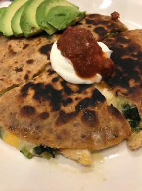 Small Kitchen Cooking: Quesadillas with Homemade Salsa Salad