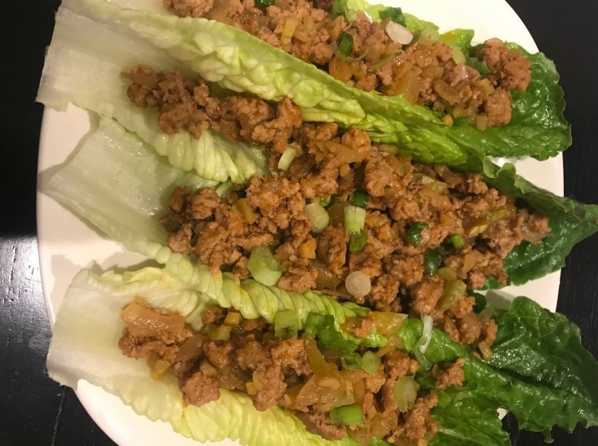 Sriracha Roasted Garlic BBQ Lettuce Wraps3