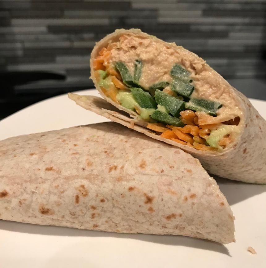 spicy tuna wrap2