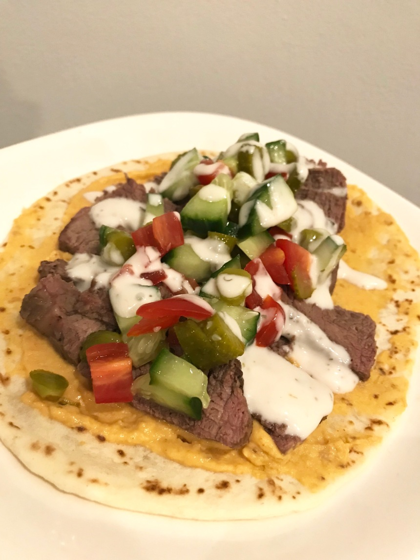 mediterranean steak sandwich2