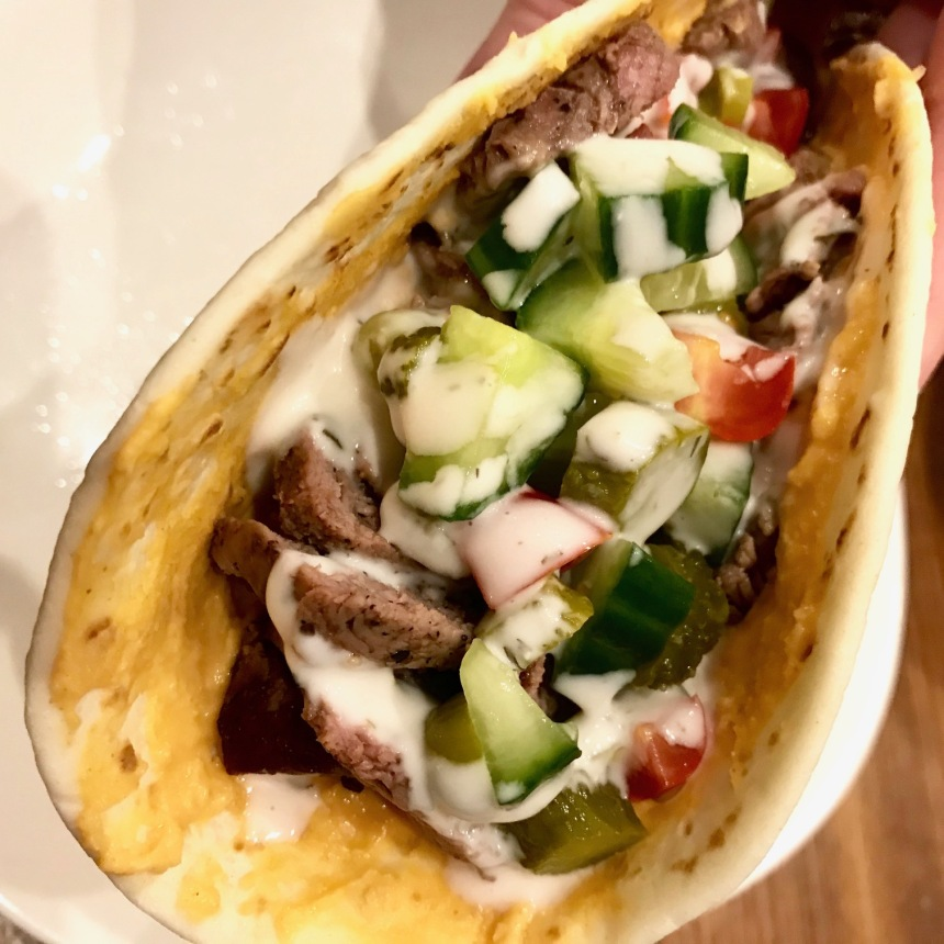 mediterranean steak sandwich4