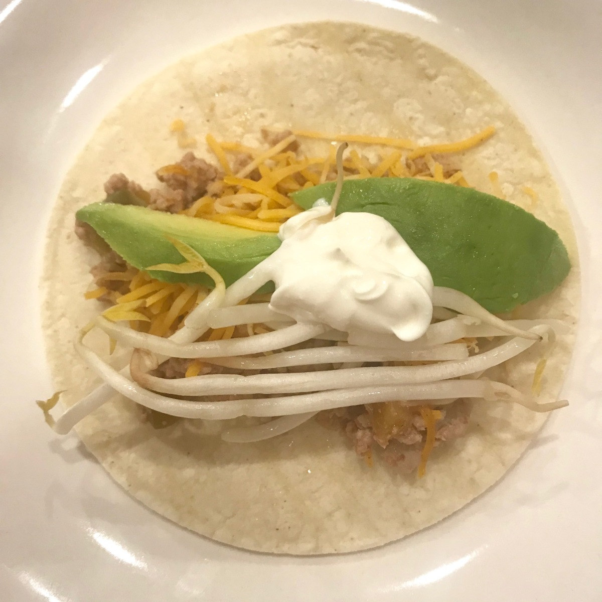 Peachy Pork Tacos