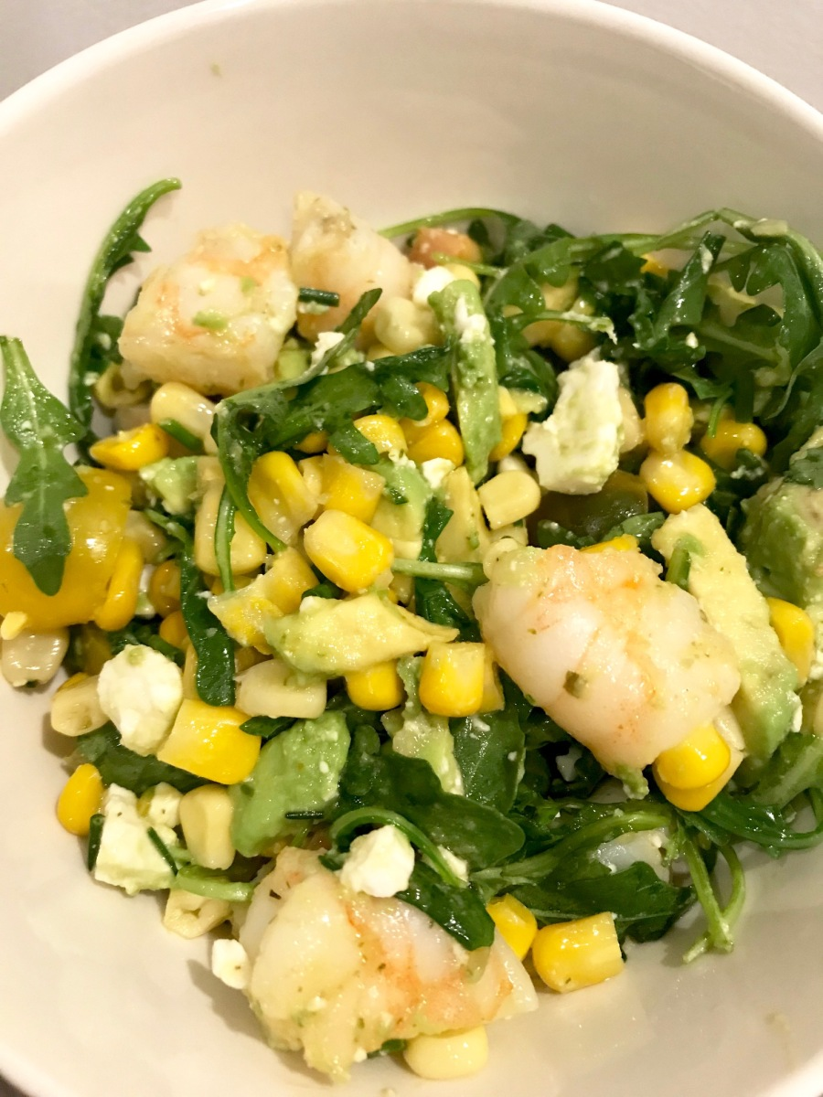 Shrimp and Corn Salad