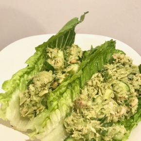 Tuna Avocado Mayo-less Salad