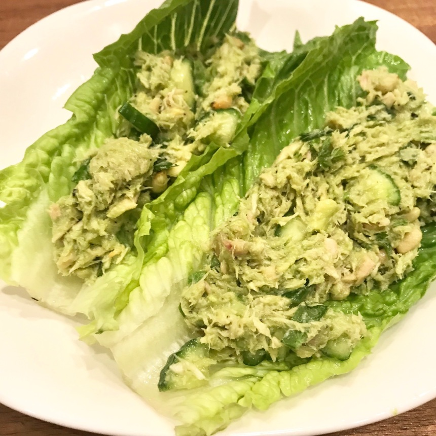 Tuna Avocado Mayo-less Salad3